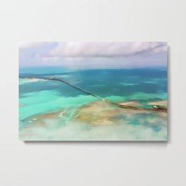 Overseas Scenic Florida Keys Metal Print