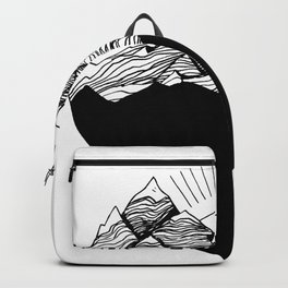 Heart is buried Backpack