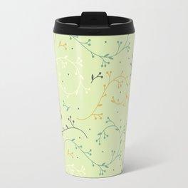 Floral Pattern - Grow Travel Mug