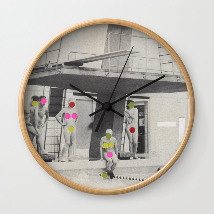 Modesty Wall Clock