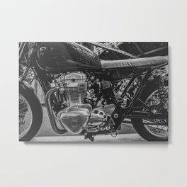BikeShed BSMC LONDON Metal Print