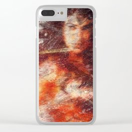 fight like a girl Clear iPhone Case