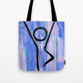 Tree pose abstract Tote Bag