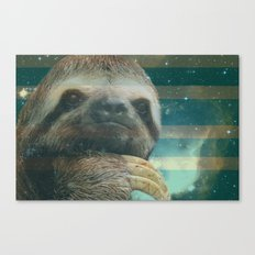Ragin' like sloth!  Canvas Print