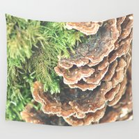 turkey Wall Tapestries featuring Turkey Tail by EXIST lifestyle