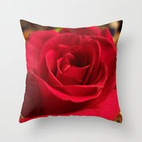 grace Throw Pillows featuring Grace by DesignsByMarly