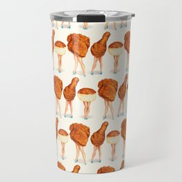 Two Piece & a Biscuit Pin-Ups Travel Mug