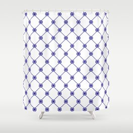 Folk pattern II Shower Curtain