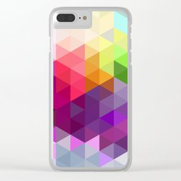 Pixel Prism Clear iPhone Case