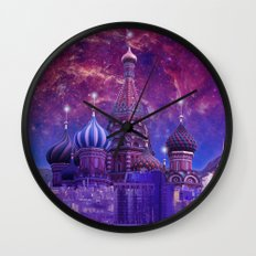 Hipsterland - Moscow Wall Clock