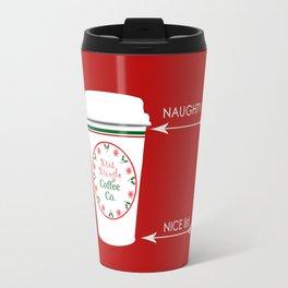 Christmas Naughty Nice Coffee Cup Travel Mug