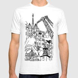 Three City Silhouettes T-shirt