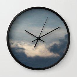 seven · sky Wall Clock