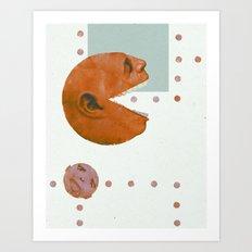 ManPac Acid 1 Art Print