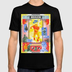 Charles Woodson Dazzles The Space Babe and Other Spectators, Nike Air Max Swamp Gut Bowl 1997 Black Mens Fitted Tee MEDIUM