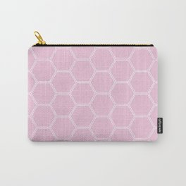 Honeycomb Light Pink #326 Carry-All Pouch