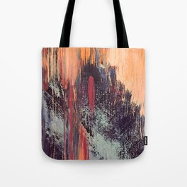 Night and Day: pretty abstract piece in orange, purple, and blues Tote Bag