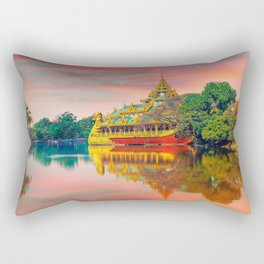 Yangon, Myanmar #society6 #decor #buyart Rectangular Pillow