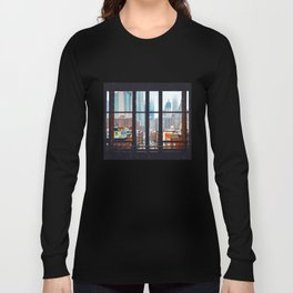 New York City Window Langarmshirt