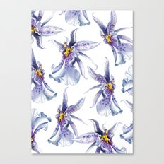 GLOWY ORCHIDS Canvas Print