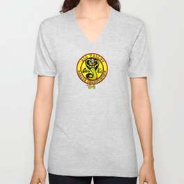 cobra kai karate clan Unisex V-Neck