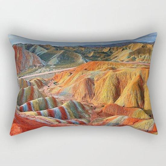 colours mountains Rectangular Pillow