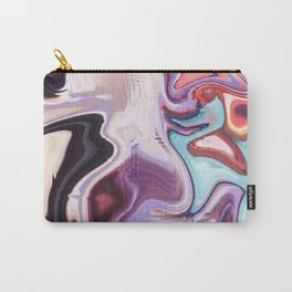 pixel glitch marble Carry-All Pouch