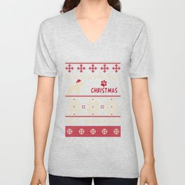 Bouvier des Flandres christmas gift t-shirt for dog lovers Unisex V-Neck