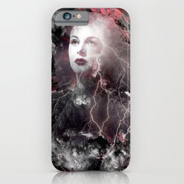Fireworks Of The Mind iPhone Case