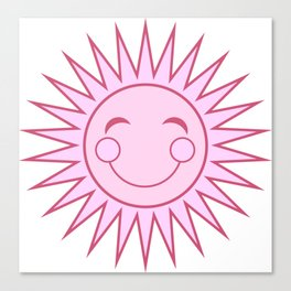 Happiness in Pink - Sunshine Series Canvas Print