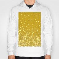 polka dots Hoodies featuring Polka-dots by rogers.emilyann