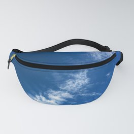 Clouds on Deep Blue Fanny Pack