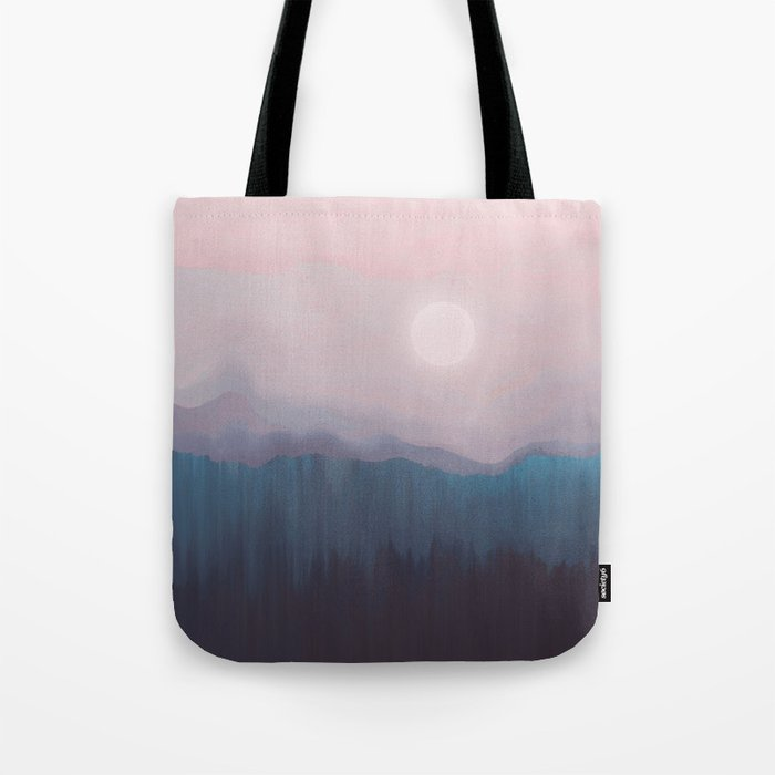 Pink Fog Tote Bag