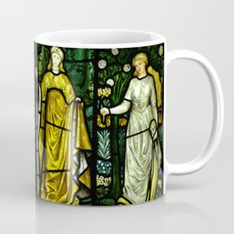 "William Morris ""Four seasons"" (Dining Room at Cragside House, Northumberland, UK) Coffee Mug"