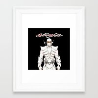 ninja Framed Art Prints featuring Ninja by Afaalstore