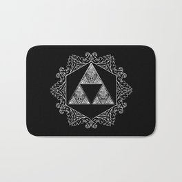 Triforce Aztec Pattern Bath Mat