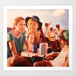 Untitled (Fourth of July I) Art Print