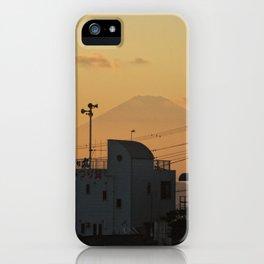 Mt. Fuji Sunset iPhone Case