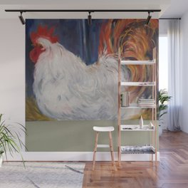 Feathering Your Nest Wall Mural