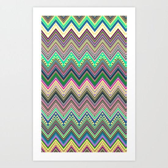 blast of summer new colour! Art Print