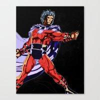 magneto Canvas Prints featuring Magneto by Joynisha Sumpter