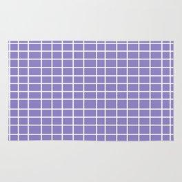 Squares of Lavender Rug