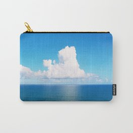 White Cloud Horizon - Tropical Horizons Series Carry-All Pouch
