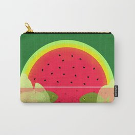Watermelon Underwater Scene Carry-All Pouch