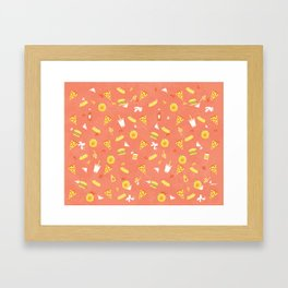 Hunger Street Framed Art Print