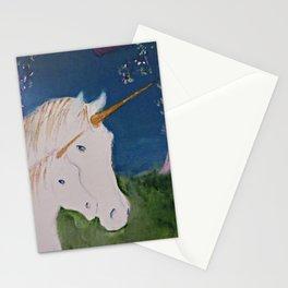 Amid The Unicorns Stationery Cards