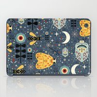 bugs iPad Cases featuring Midnight Bugs  by Carly Watts
