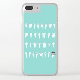 Wisdom Tooth Clear iPhone Case