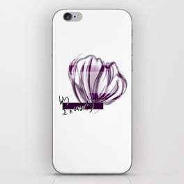 Floral Shell iPhone Skin
