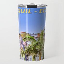 Santa Ana Hill, Guayaquil Poster Print Travel Mug